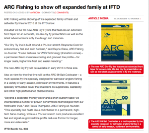 Angling International IFTD Launches